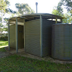 Toilets at northern end of Geehi Flats camping area (293689)