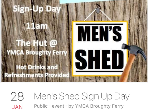 Sign Up Day for Broughty Ferry Men's Shed