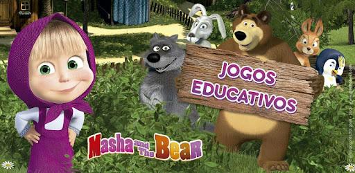 Masha E O Urso Jogos Educativos Apps No Google Play