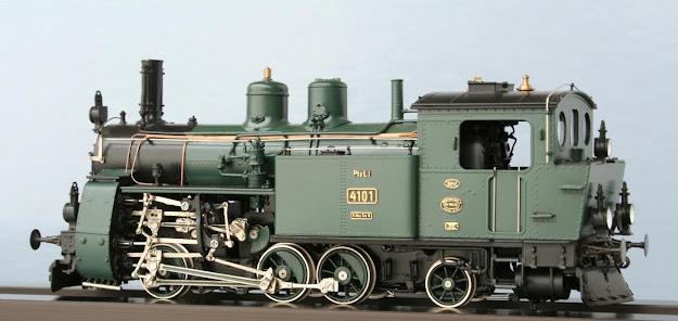 Modeli parnih lokomotiva DRG 90010H-La