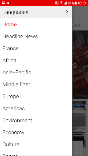 RFI - Radio France Internationale,  live news 3.3.9 Screenshots 9