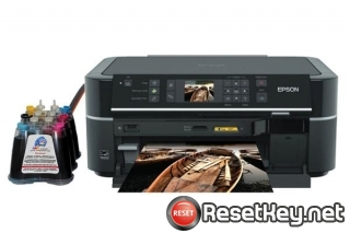 WIC Reset Utility for Epson TX659 Waste Ink Pads Counter Reset
