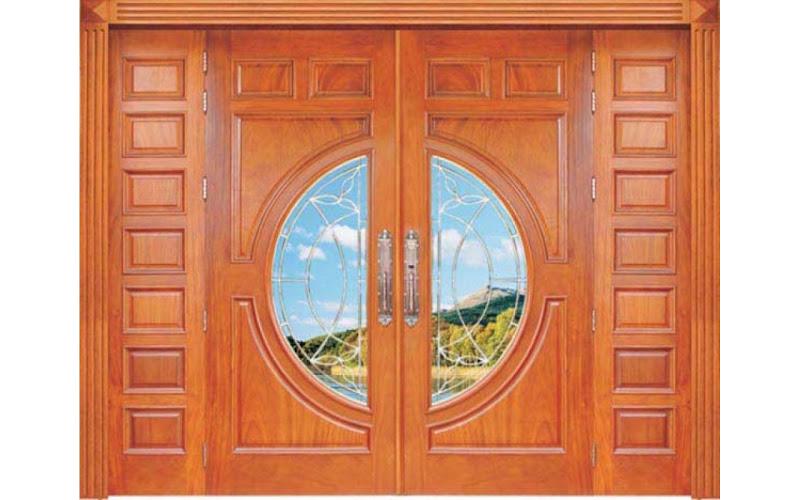 cửa gỗ căm xe