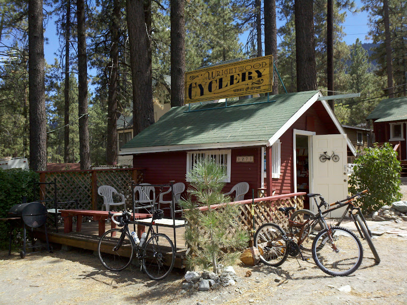 Angeles Crest Highway • Wrightwood Cyclery