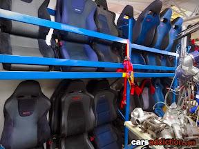 STI and Recaro Seats