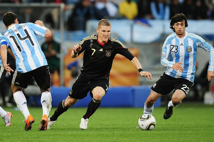 2010: Germany - Argentina 4-0