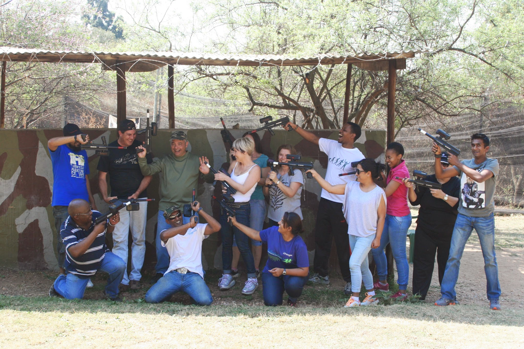 Corporate Team Building – Nedbank – 2014