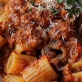 How to Make Bolognese Sauce Recipe