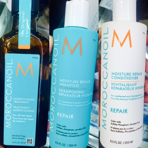 Moroccanoil Magnifique Hair Treatment.