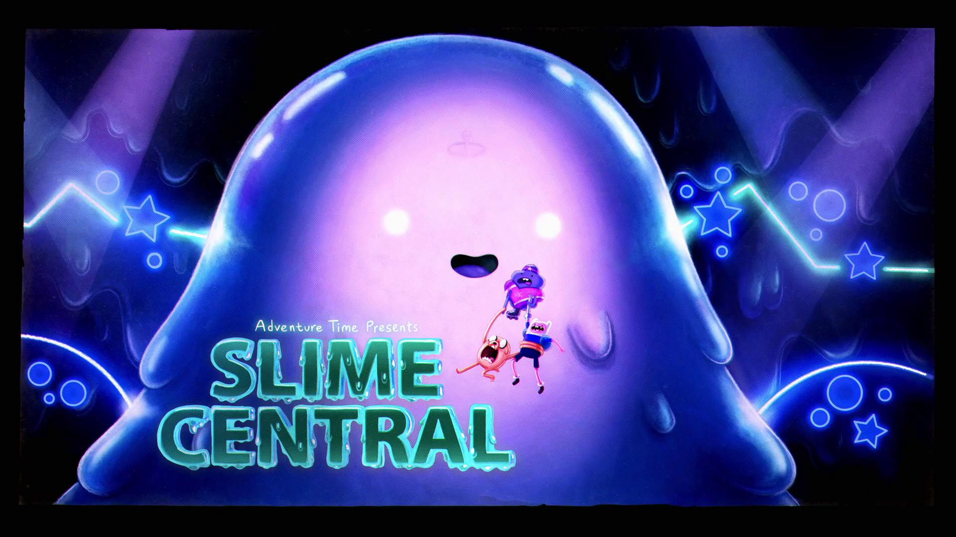 Hora de Aventura - Elementos: Central da Gosma