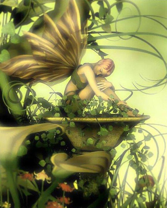 Fairy And Nature, Fairies Girls