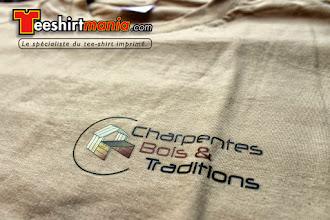 Photo: Charpente bois et Tradition Teeshirt personnalisé