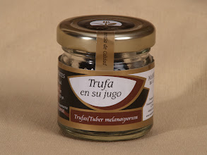 Photo: Black winter truffle (Tuber Melanosporum) boiled in salted water. http://www.manjaresdelatierra.com/en/productos.php