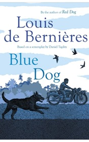 Blue Dog - Louis De Bernieres cover