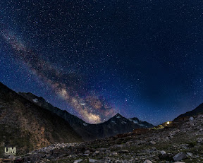 Milkyway over Jalkhad, Pakistan