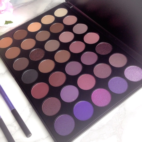 Morphe 35P Eyeshadow Palette Review