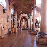 Interior da Catedral -  Castro - Chiloe, Chile