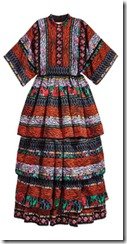 Kenzo for H&M patterned maxi dress