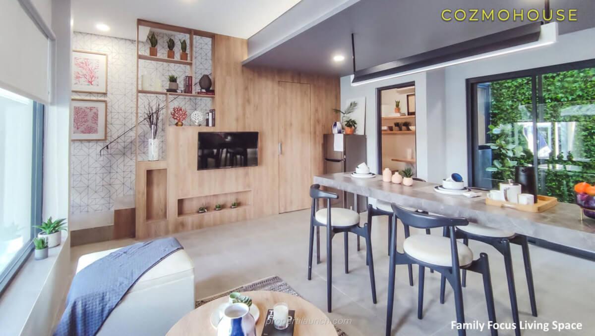Rumah Contoh Cozmo House Myza BSD
