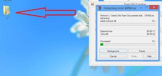 extracting-rar-file-to-windows-desktop-to-convert-rar-to-iso