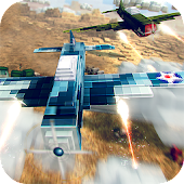 Blocky Dogfight Airplane Game