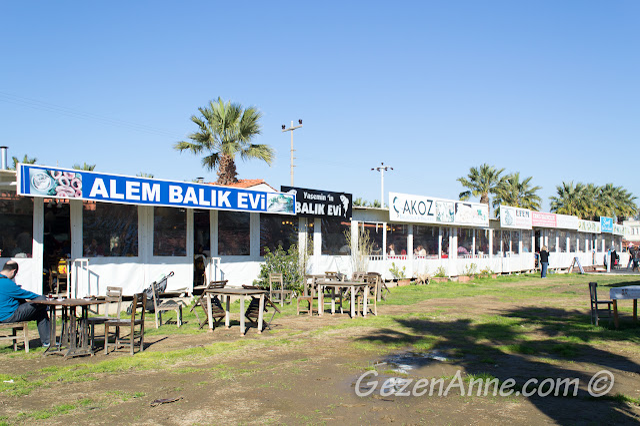 sahildeki balık restoranları, Sığacık Seferihisar