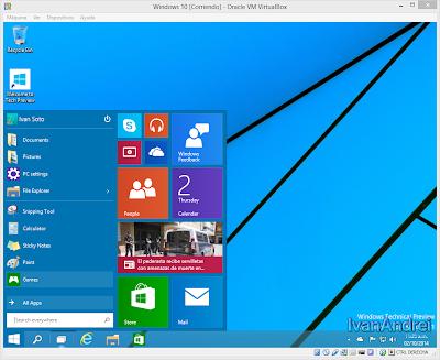 Instalación de Windows 10 - VirtualBox - Instalación completada