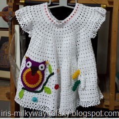 Front dress with the owl