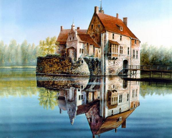 House On The Lake, Magical Landscapes 1