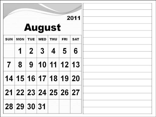 blank calendar 2011 august. Blank+calendar+2011+august