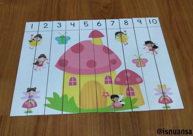 puzzle saat dimainkan