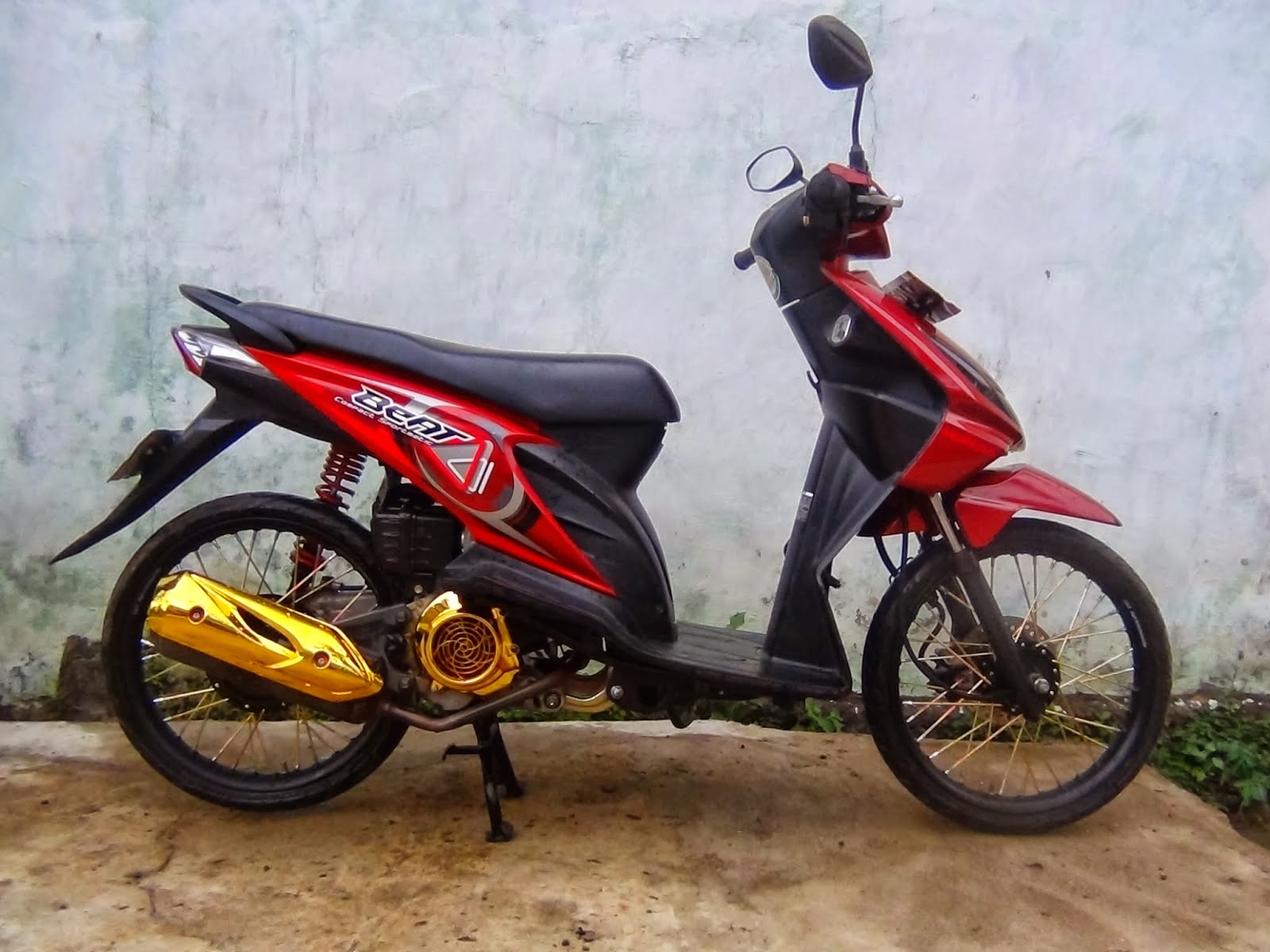 Beat Fi Modifikasi Velg 17