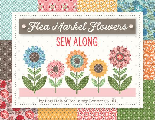 Flea Market Flowers Sew Along