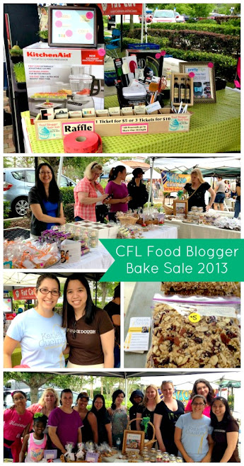 CFL Food Blogger Bake Sale 2013
