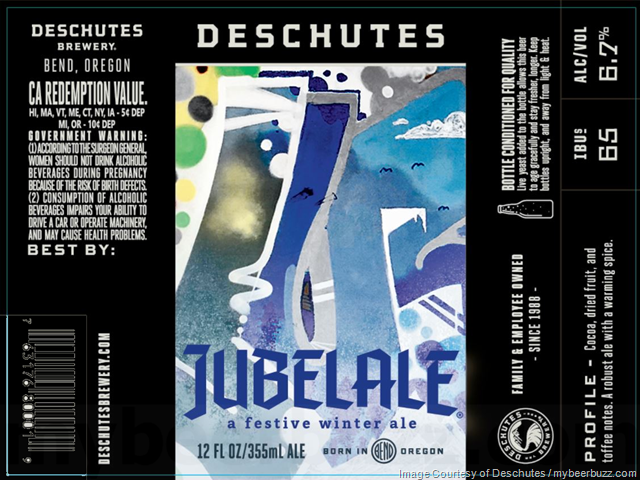 Deschutes Reveals Jubelale 2018