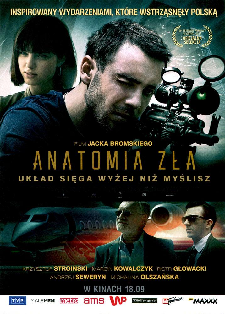 Ulotka filmu 'Anatomia Zła (przód)'