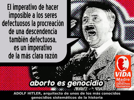 Aborto es Genocidio