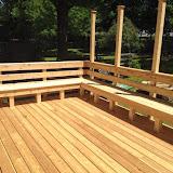 Burlington Deck with Hop Trellis