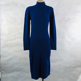 Calvin Klein Collection Cashmere Turtleneck Sweater Dress