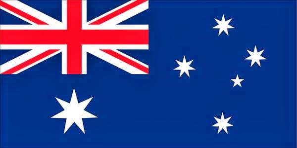 Australia, bandera