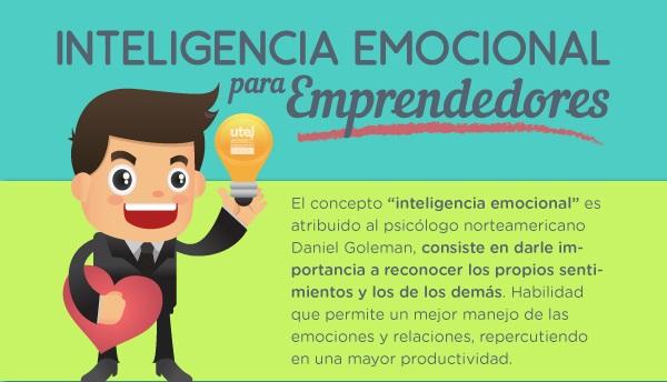 Por qué es importante la Inteligencia Emocional para un Emprendedor (infografía)