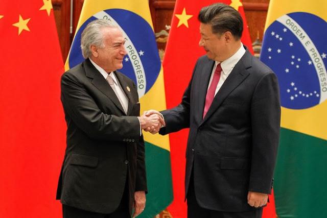 China e Brasil assinam acordos de investimento e cooperação