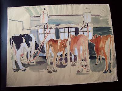 695 Milking Parlour