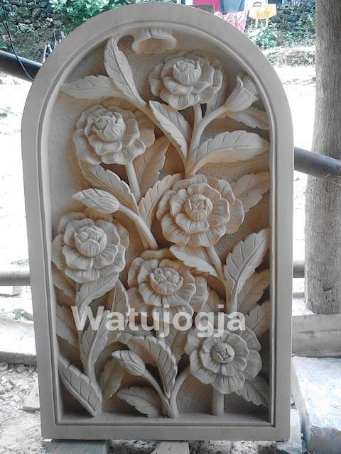 Relief batu alam jakarta