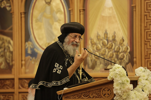 His Holiness Pope Tawadros II visit to St. Mark LA - _09A9222.JPG