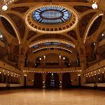 Smetanova síň Obecního domu - pohled z pódia
