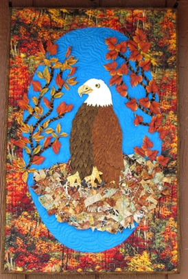 1607064 July 23 Joan Shay Eagle WallHanging Finished