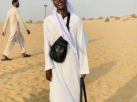 Zinoleesky appreciating naira Marley as he got to travel to Dubai for the first time in his life
