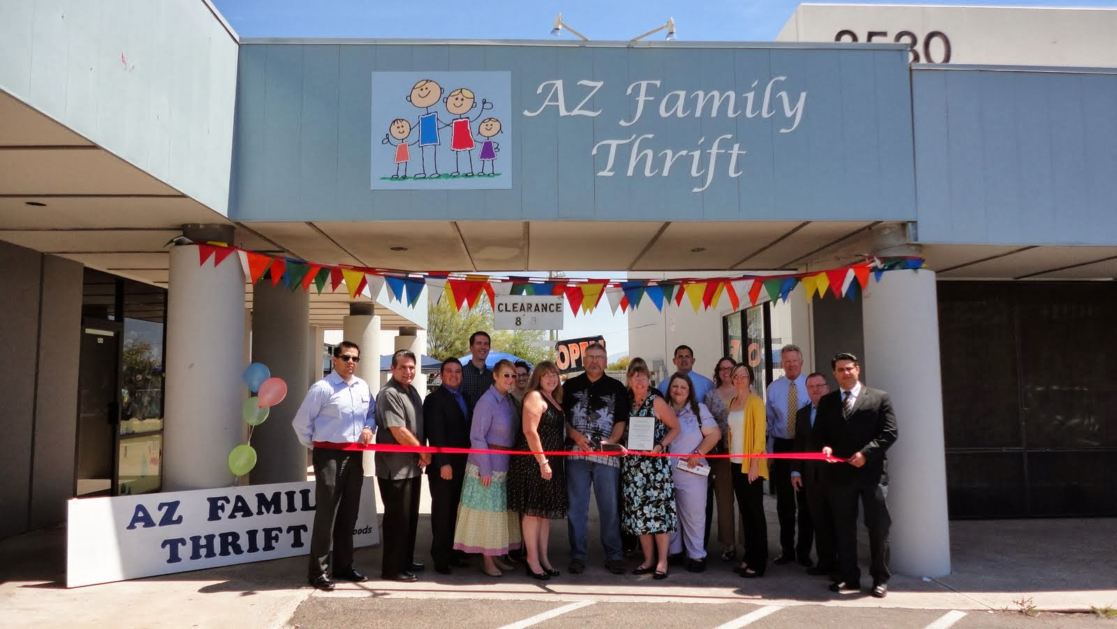 Family owned and operated, AZ Family Thrift is a step above the average thrift store.  Selling quality used clothing, furniture, electronics, house wares, toys, books, movies, music, collectibles, vintage items, antiques and much more.