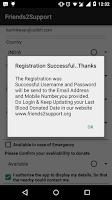 Screenshot of Friends2Support.org
